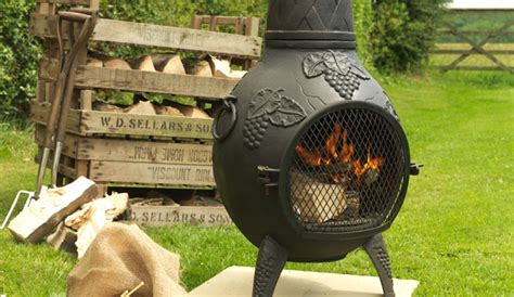 Metal Chiminea Paint Spray Paint A Chiminea With Rust Oleum Spray Paint