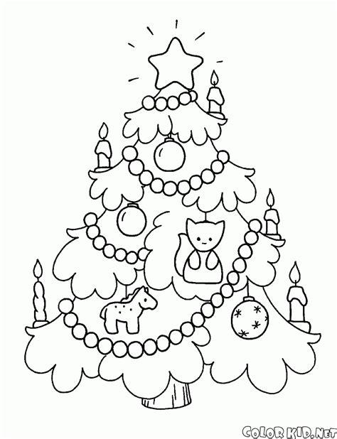 arbol de navidad para colorear dibujo para colorear 193 rbol de navidad en la noche