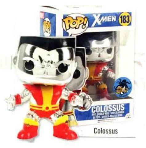 Funko Pop Marvel Xmen Colossus comikaze funko chrome colossus gitd she pop vinyls marvel news