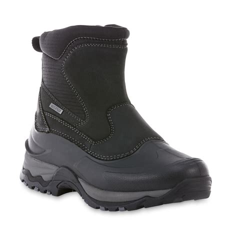 mens winter boots sears elk woods s jasper black waterproof winter boot shop