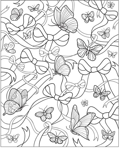 butterfly doodle coloring pages creative haven beautiful butterfly designs coloring book