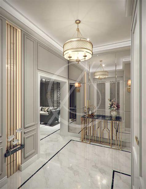 modern classic villa interior design  comelite