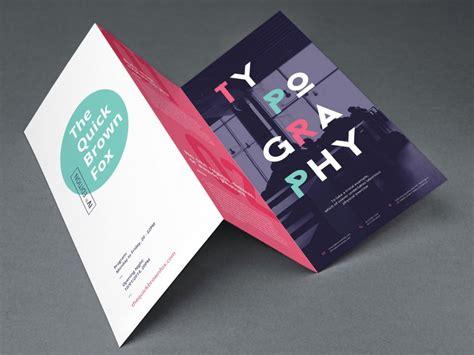 tri fold tri fold brochure mockup mockupworld