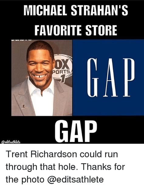 Trent Richardson Meme - 25 best memes about michael strahan michael strahan memes