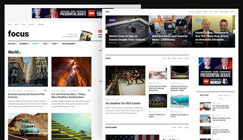 Multiple Layout Joomla Template | review features news and magazine joomla template ja