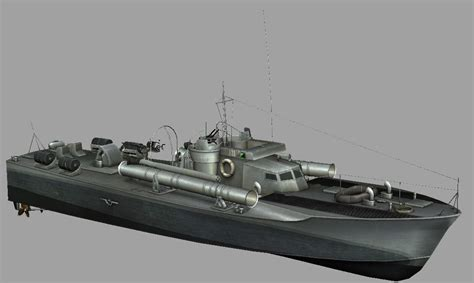 pt boat armament vosper pt boat by baldson on deviantart