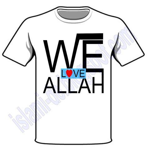 Kaos Islami I Allah we allah islamide rilis kaos lagi islamide