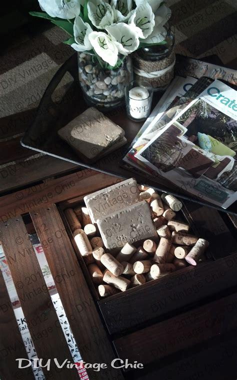 Vintage Wine Crate Coffee Table Diy Vintage Chic Vintage Wine Crate Coffee Table