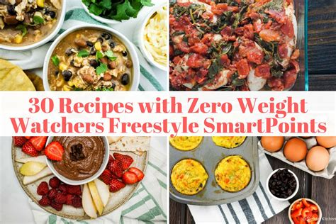 thirty zero freestyle point weight watchers recipes