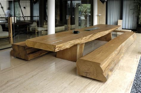 tavole in teak un pezzo unico tavolo in teak massello tavolo in legno id