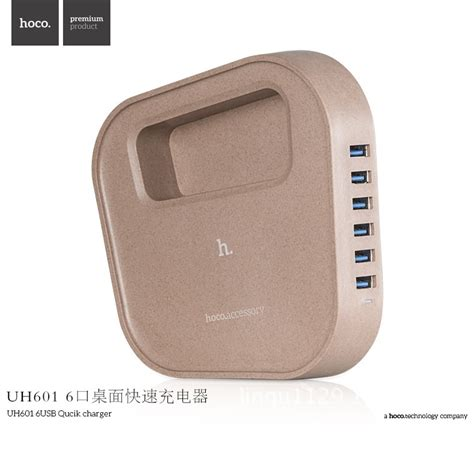 Sale Hoco Wall Charger 5 Port 8a Intelligent Balance Usb 3 0 Uh501 hoco uh601 intelligent balance usb wall travel charger 6