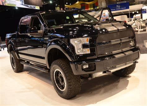 shelby truck specs the shelby f 150 flexes big muscles in chicago ford