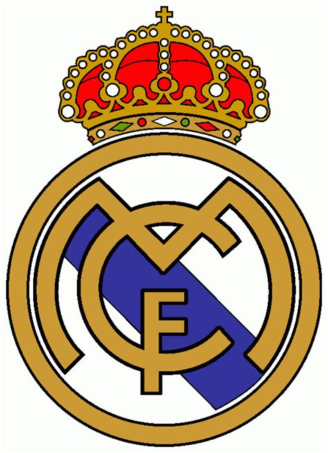 real madrid colors free coloring pages of realmadrid logo