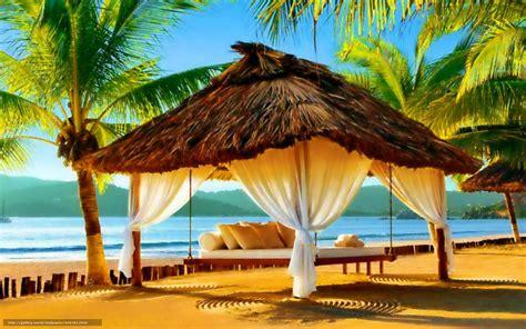 Wallpaper For Livingroom download wallpaper beach paradise sun sky free desktop
