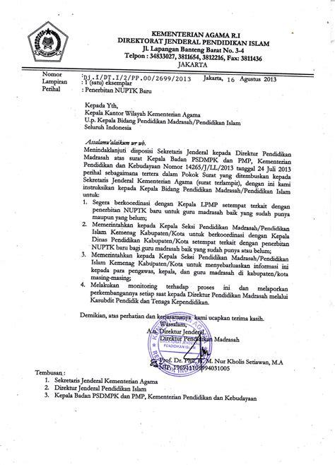 prosedur pemutakhiran data nuptk smps juara pekanbaru