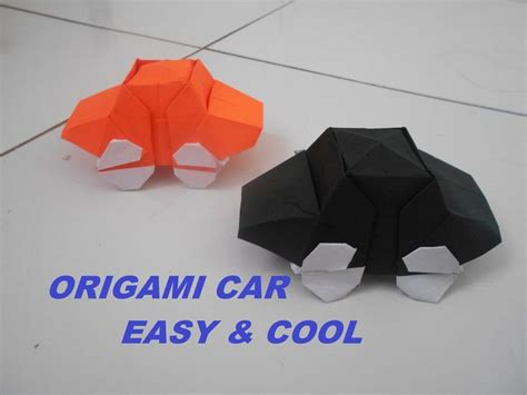 How To Make Origami Car - 17 best images about origami on origami cranes