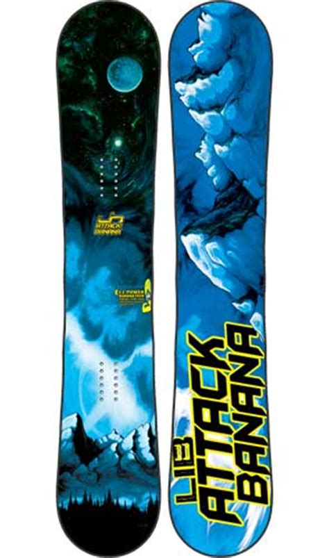 lib tech attack banana lib tech attack banana 2011 2019 snowboard review