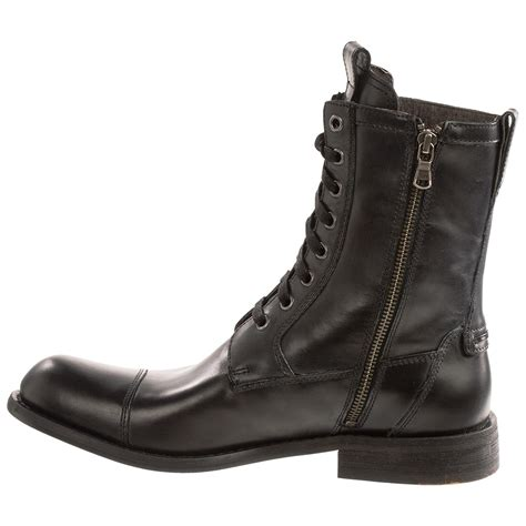 for boots varvatos usa strum combat zip boots for 8407f