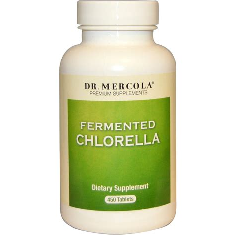 Suplemen Chlorella Dr Mercola Premium Supplements Fermented Chlorella 450