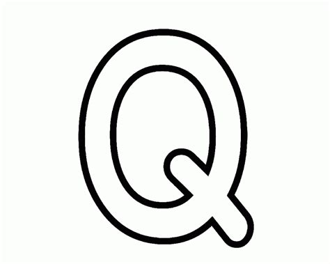 printable letter q pictures books with letter q coloring page to print letter q