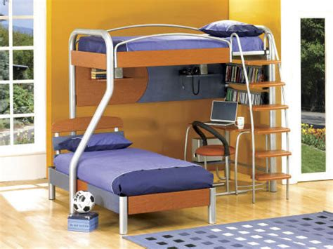 Boy Bunk Beds With Desk Bunk Beds With Desk For Boys Bedroom Ideas Pictures