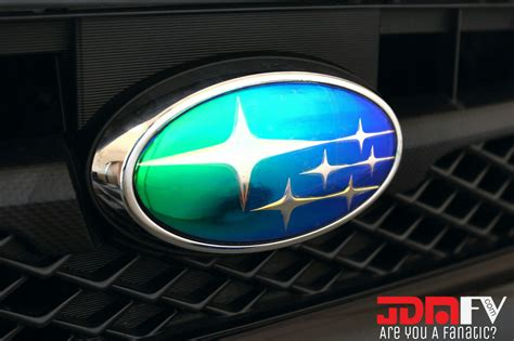 subaru chrome neo chrome precut emblem overlays 14 17 forester