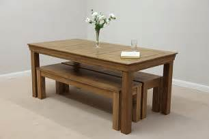 Dining Tables With Benches And Chairs Dining Tables Benches