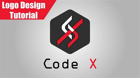 logo tutorial illustrator youtube code x logo design tutorial illustrator cc hd youtube