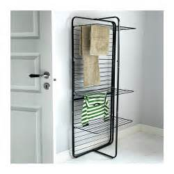 mulig drying rack 4 levels in outdoor black ikea