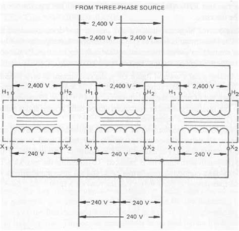single phase to three phase transformer diagram 3 phase transformer wiring diagram wiring diagram and