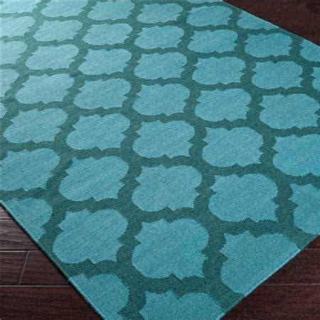 teal trellis rug ironwork trellis dhurrie rug available in 11 colors cobalt blue and ivory emerald green and