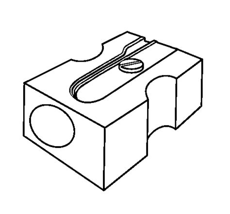 colored pencil coloring pages print colored page pencil sharpener ii painted by one