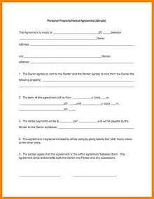 Simple Residential Lease Agreement Template by Doc 450580 Simple Residential Lease Agreement Template
