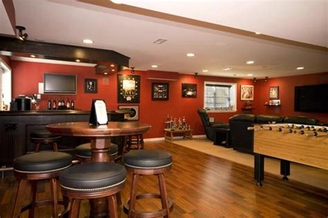 sports bar in the basement cool home ideas