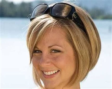 plus size bob hairstyles short hairstyles for plus size round faces google search