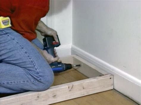 how to build a window bench how to build window seat from wall cabinets how tos diy