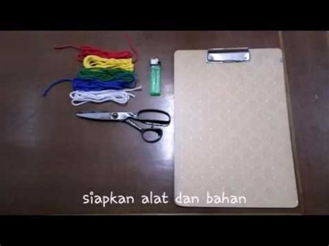 Jual Tali Rami Warna cara membuat gelang home design idea