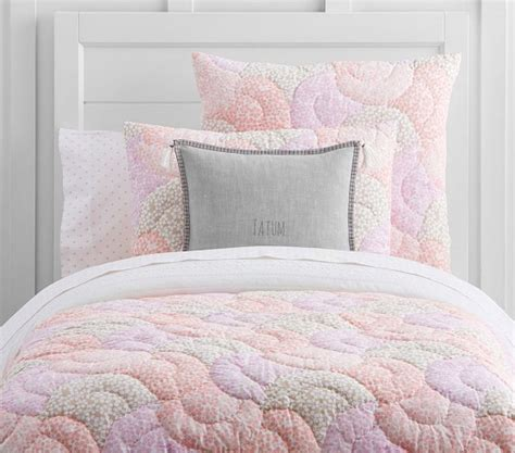 Leila Comforter Set by Leila Wholecloth Quilted Bedding Pottery Barn