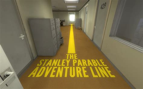 The Wall A Parable the refined 187 the stanley parable the fourth wall