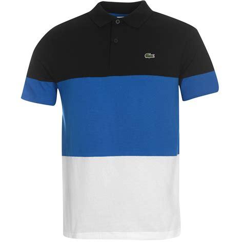 Lacoste Stripe lacoste lacoste block stripe polo shirt mens polo