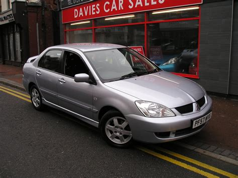 mitsubishi lancer 1 6 equippe 4dr manual for sale in