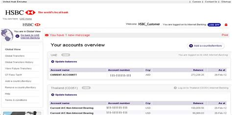 bank account hsbc banking demo hsbc lebanon personal banking