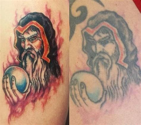 do color tattoos fade before and after photos show how tattoos age and fade