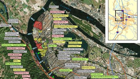 superfund sites map kgw com comment period for portland harbor superfund