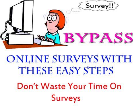 Easy Online Survey - bypass online survey easy youprogrammer