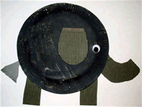 Paper Plate Elephant Craft - paper plate elephant craft make and do