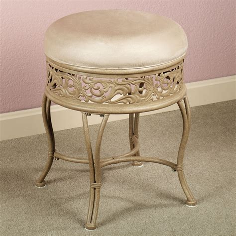 Bathroom Vanity Stools With Wheels Vanetta Vanity Stool Pinterest