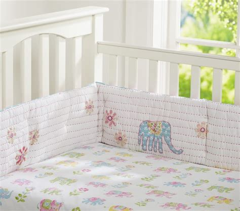 Next Nursery Bedding Sets Vienna Elephant Nursery Bedding Set Pottery Barn