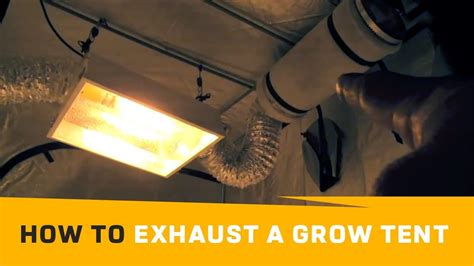 grow tent passive outtake air  aggressive air flow