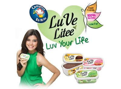 membuat es krim low fat luve litee low fat ice cream my inspirasi